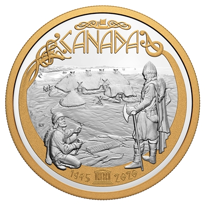 2020 $125 75th Anniversary of UNESCO - Pure Silver Coin