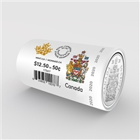 2020 50 Cents Circulation Coin Roll