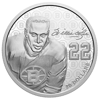 2020 $20 Black History Month: Willie O'Ree - Pure Silver Coin