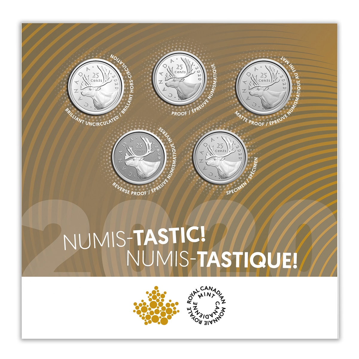 2002 Canadian Brilliant Uncirculated 1 5  and 10 Cent Type Set!