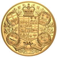 2020 $2500 Reimagined 1905 Arms of Dominion of Canada - Pure Gold Coin