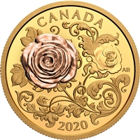 2020 $200 The Queen Elizabeth Rose - Pure Gold Coin