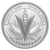 2020 $20 Second World War Battlefront Series: Victory in Europe - Pure Silver Coin