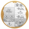 2020 $100 Archival Treasures: The Armorial Bearings of the Dominion of Canada - Pure Silver Coin