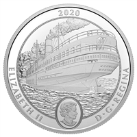 2020 $30 SS Keewatin - Pure Silver Coin