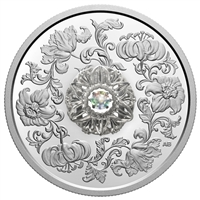 2020 $20 Dancing Diamond: Sparkle of the Heart - Pure Silver Coin