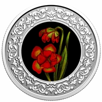 2020 $3 Floral Emblems of Canada - Newfoundland and Labrador: Pitcher Plant -  Pure Silver Coin