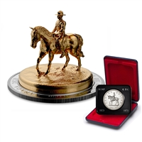 2020 $100 The RCMP Musical Ride - Pure Silver Sculpture Coin