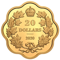 2020 $20 Iconic Maple Leaves - Pure Silver Coin