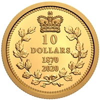 2020 $10  Dominion of Canada - Pure Gold Coin