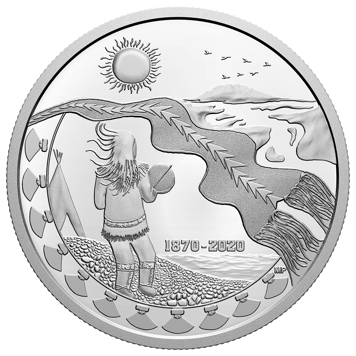 2020 Canada Silver $30 150th Anniv of the NW Territories SKU#220478