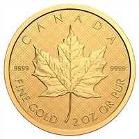 2021 $200 The Classical Maple Leaf - Pure Gold Coin