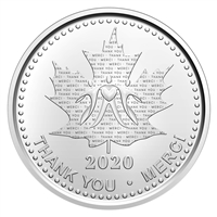 2020 Recognition Medal - Pure Silver Coin