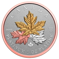 2021 $300 A Tribute to the Maple Tree - Pure Platinum Coin