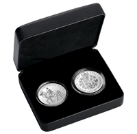 2021 Royal Celebration Pure Silver 2-Coin Set