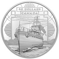 2021 $50 The First 100 Years of Confederation: Coming of Age - Fine Silver Coin