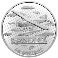 2021 $50 The First 100 Years of Confederation: Canada Takes Wing - Fine Silver Coin