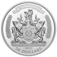 2021 $20 Commemorating Black History: The Black Loyalists - Pure Silver Coin