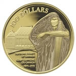 $100 2005 Gold Coin - 130th Anniversary of the Supreme Court of Canada