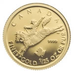 50c 2006 1/25 oz Gold Maple Leaf Special Issue - Cowboy