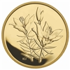 2005 $350 The Western Red Lily, Saskatchewan - Pure Gold Coin