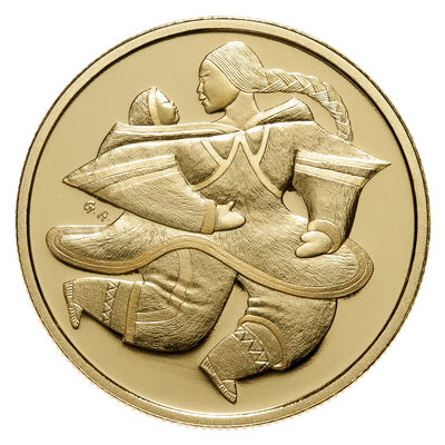 $200 2000 Gold Coin - Mother and Child