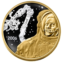 2006 $300 Canadarm - 14-kt Gold Coin