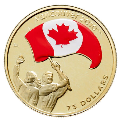 $75 2007 Gold Coin - Athletes' Pride