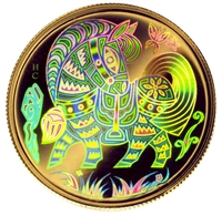 2002 $150 Gold Coin - Year of the Horse, Hologram