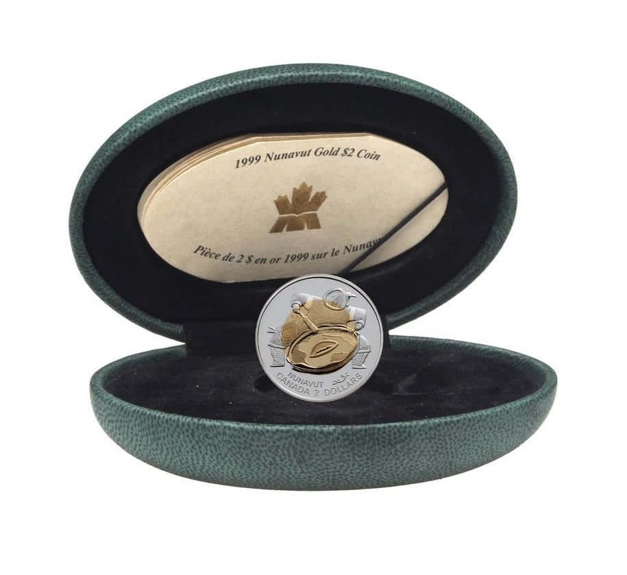 Our ...  sc 1 st  Canadian Coin and Currency & $2 1999 Gold Coin - Nunavut | Royal Canadian Mint Coins