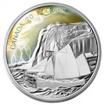 $20 2006 Silver Coin - Ketch Tall Ship