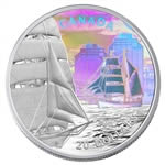 $20 2007 Silver Coin - Tall Ships Collection - Brigantine