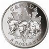 $5 2005 Silver Coin - 60th Anniversary of the End of the Second World War