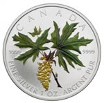 $5 2005 Coloured Maple Leaf - Bigleaf Maple