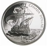$1 2004 Proof Silver Coin - 400th Anniversary French Settlement