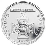 $1 2006 Silver Brilliant Uncirculated Coin  - 150th Anniversary of the Victoria Cross