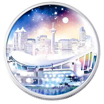 $20 2006 Silver Coin - Pengrowth Saddledome