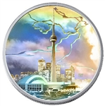 $20 2006 Silver Coin - CN Tower