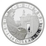 $10 2006 Silver Coin - Fortress Louisbourg