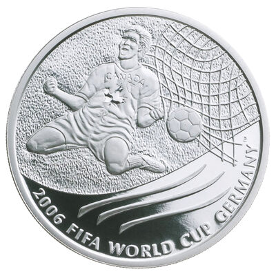 $5 2003 Silver Coin - 2006 F.I.F.A. World Cup