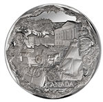 $250 2008 Fine Silver Kilo Coin - Olympic Games: Towards Confederation