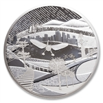 2009 $250 Silver Coin - Olympic Winter Games:  The Canada of Today