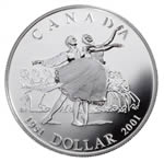 $1 2001 Proof Silver Coin - 50th Anniversary of the National Ballet of Canada