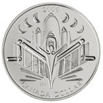 $1 2000 Brilliant Uncriculated Silver Coin - Voyage of Discovery