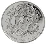 $1 1999 Proof Silver Coin - International Year of Older Persons