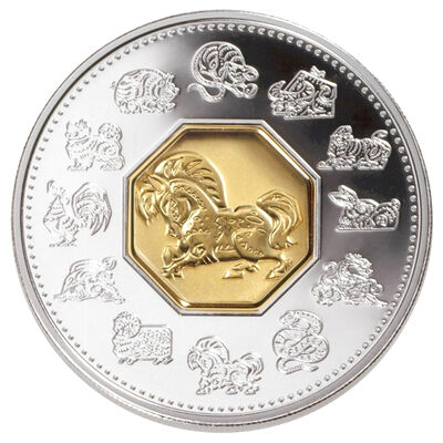 $15 2002 Silver Coin - Year of the Horse