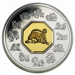 $15 2004 Silver Coin - Year of the Monkey