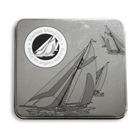 1999 50c Sterling Silver First Yachting Race Between Canada and the U.S.