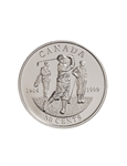 50c 1999 Silver Coin - First Canadian Open Golf Championship