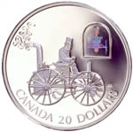 $20 2000 Silver Coin - H.S. Taylor Steam Buggy